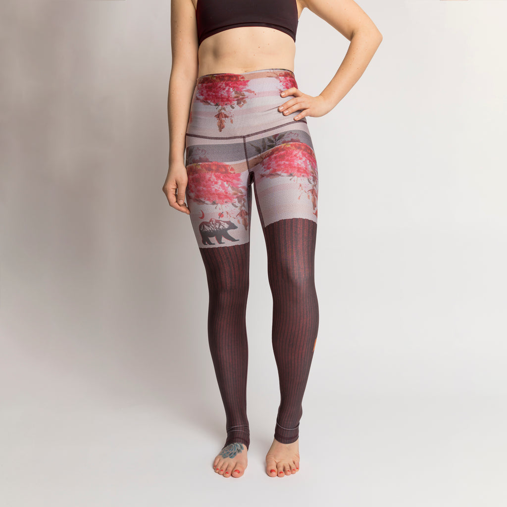 The Cozy Cottage Leggings - LAST CHANCE!