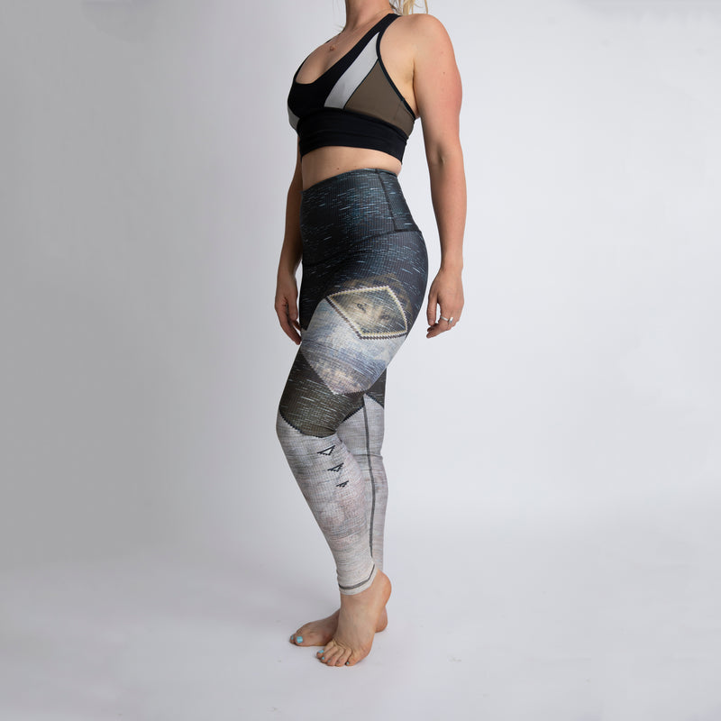The Wolf Eye Athletic Tights with reflective - WHOLESALE - order by July 31st