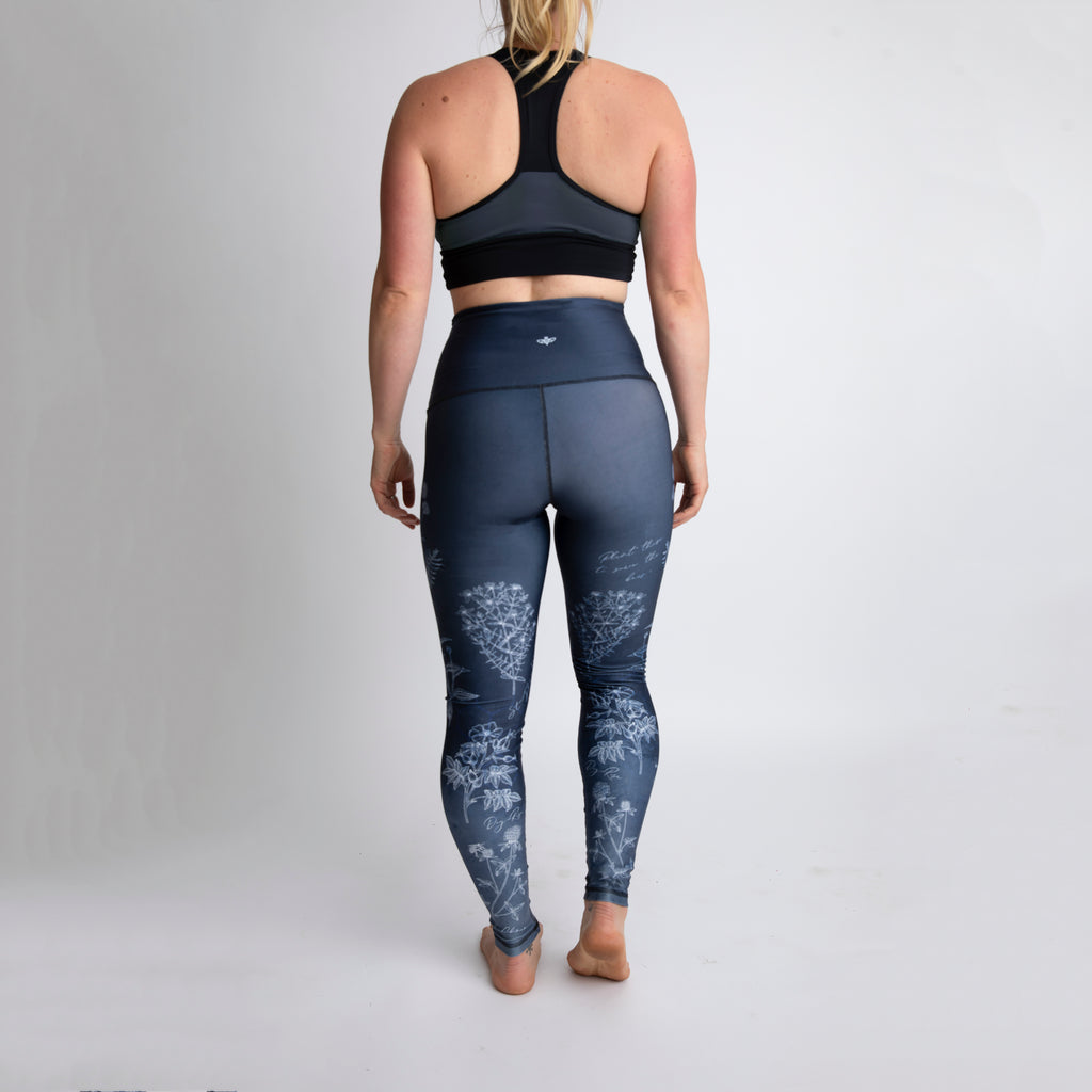 Save the Bees Athletic Tights - LAST SIZE: MEDIUM