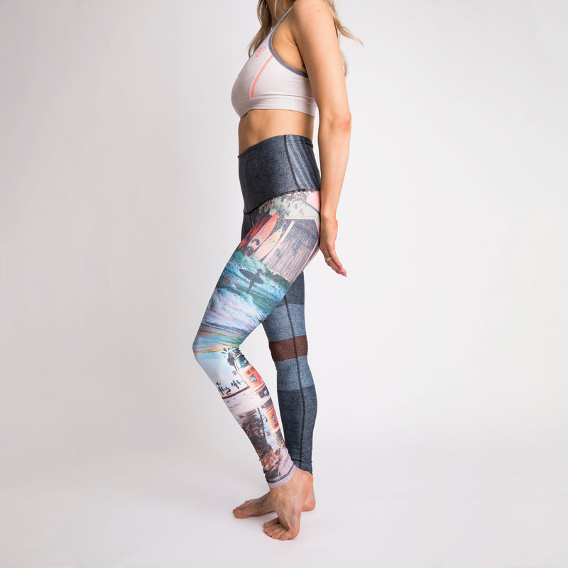 The Surf Trip Athletic Tights - pre-order until April 30th