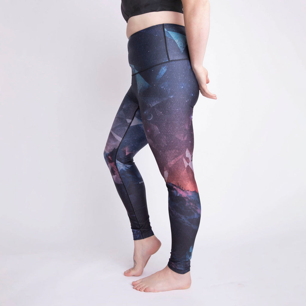 "Adventure Besties - The ""Journey to the Moon"" Athletic Tights - LAST CHANCE"