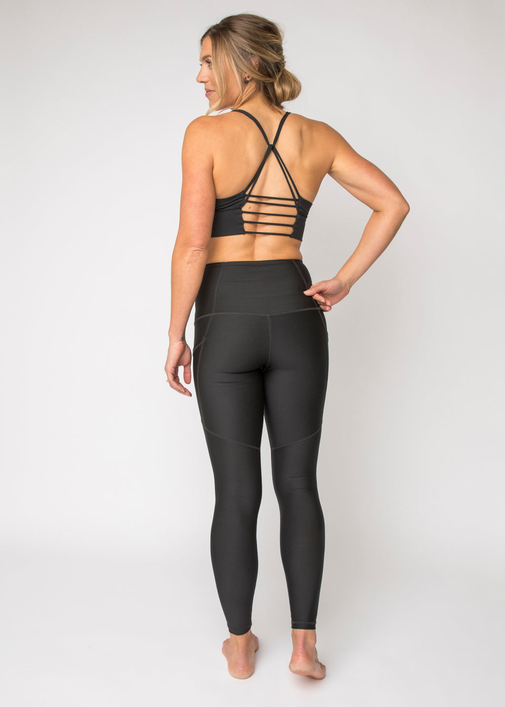 """Pitch Black"" Pack-light Tights"