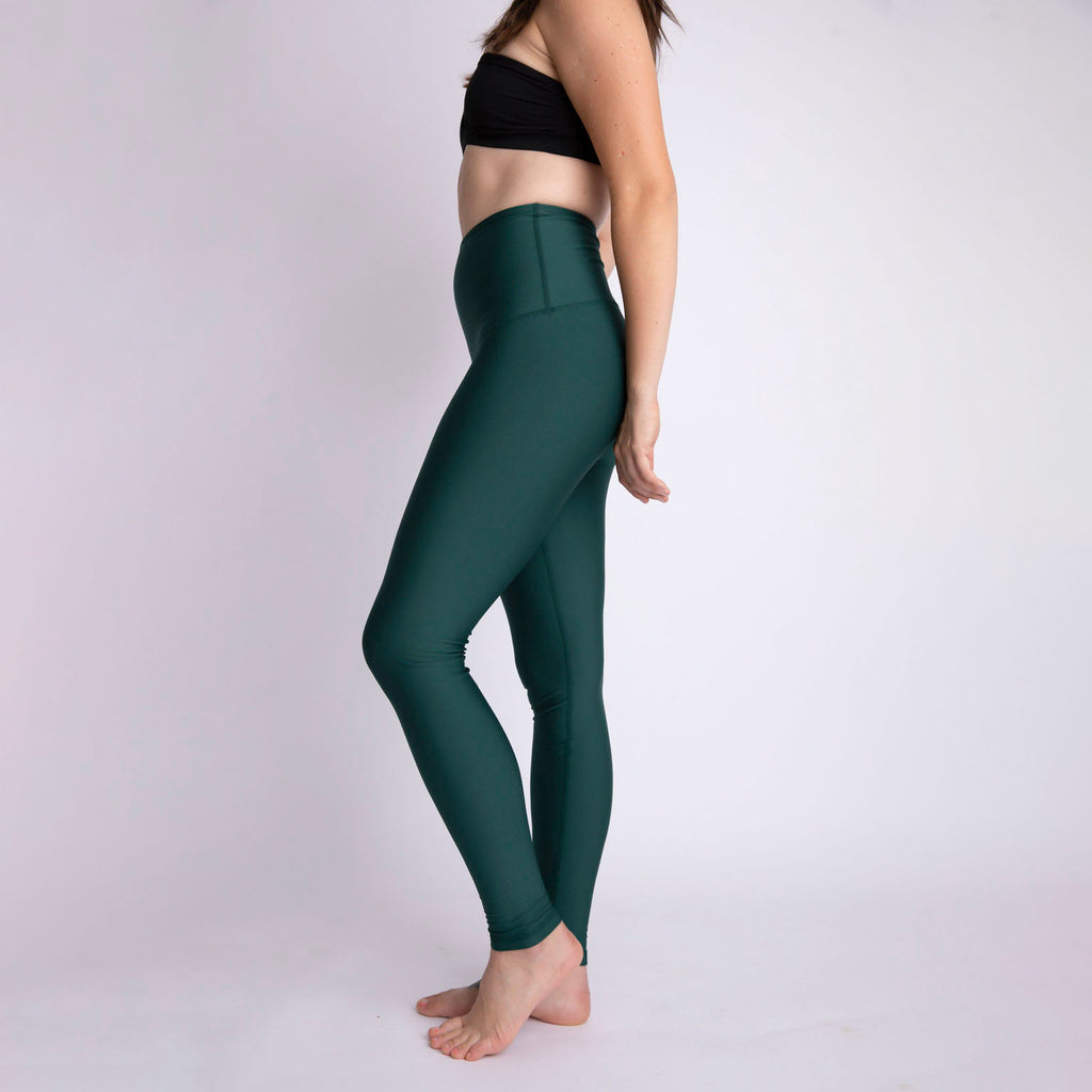 """Forest Green"" Baselayer Leggings"