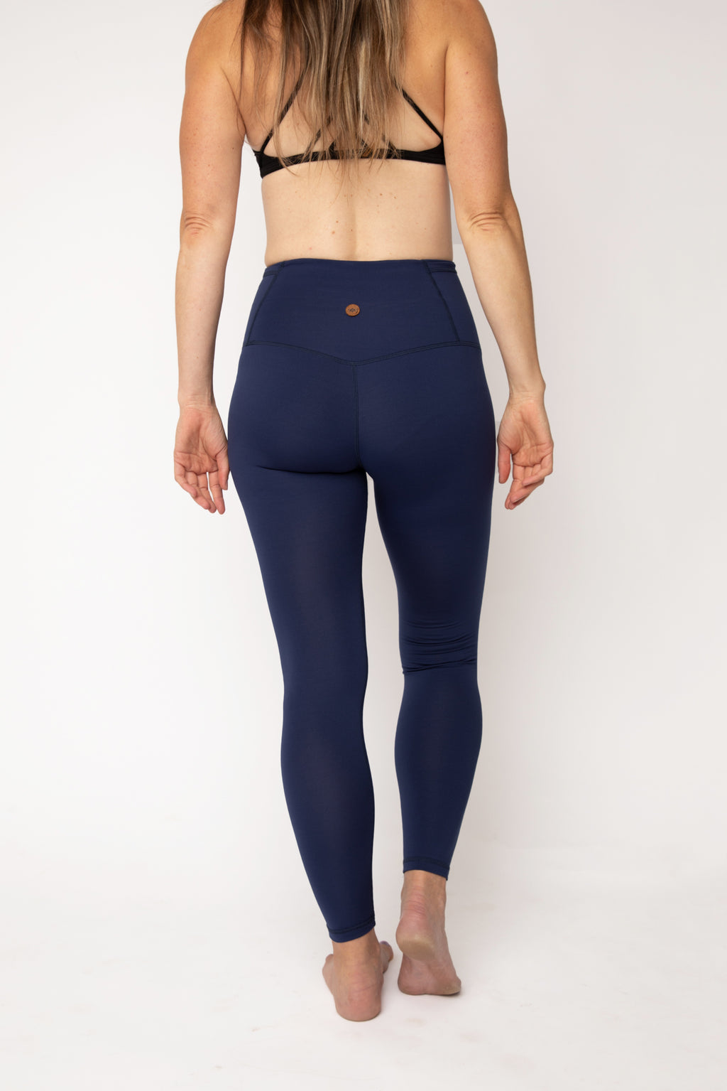 """Marine Blue"" Basecamp Leggings"