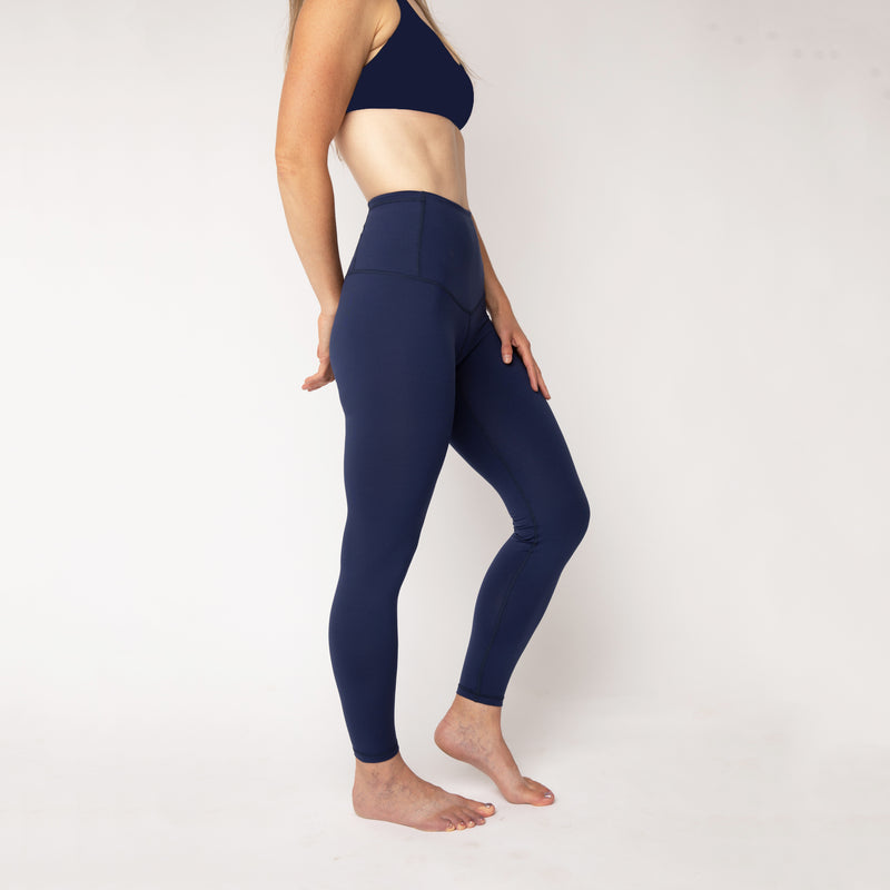 """Marine Blue"" Basecamp Leggings - pre-order by October 31st"