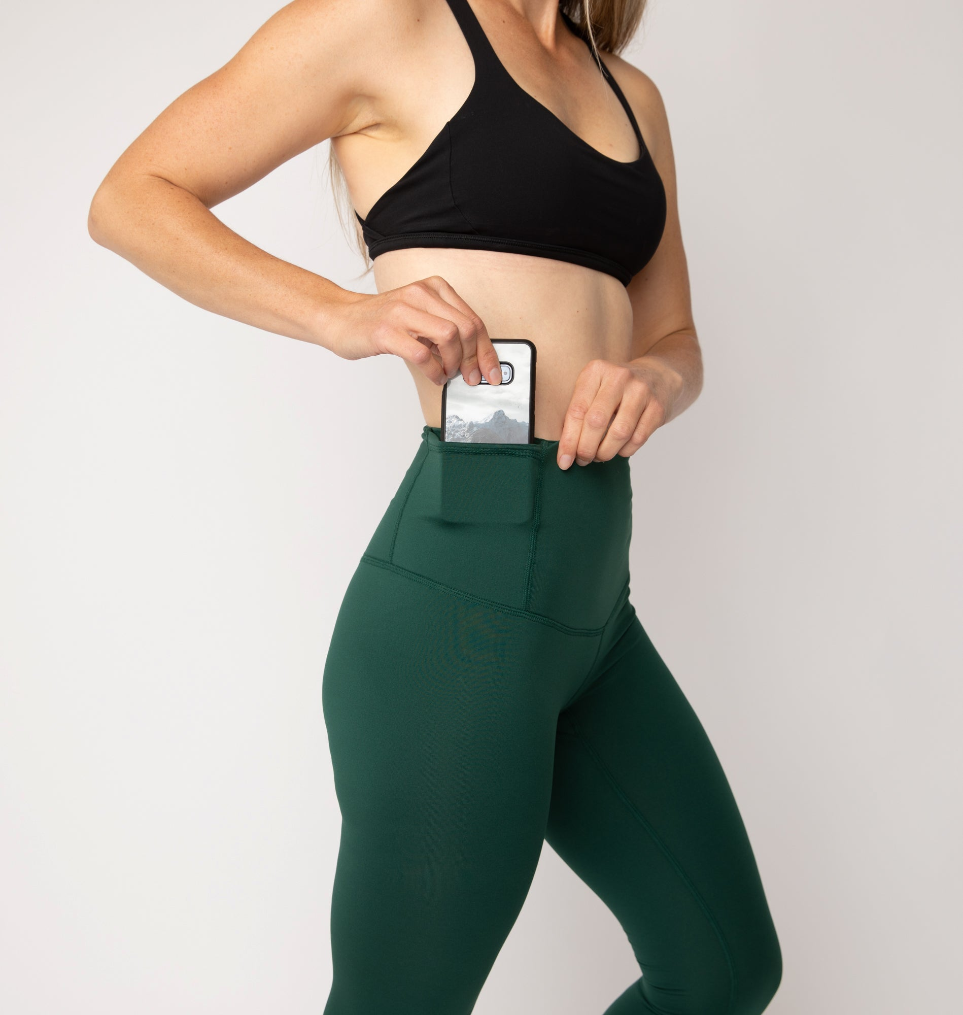 Forested River Yoga Capris