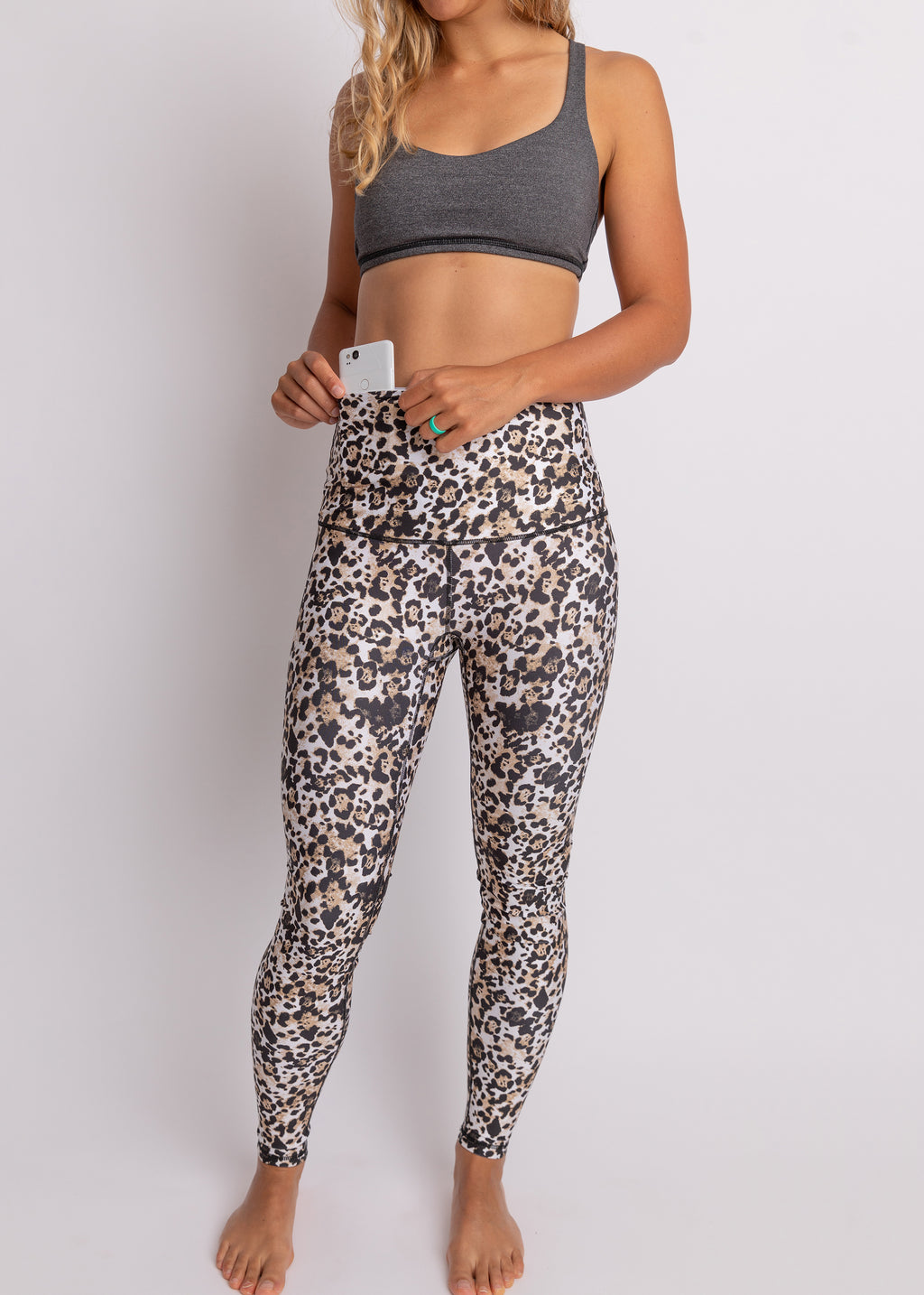 """Wild Cat"" Athletic Tights, RECYCLED - XL only!"
