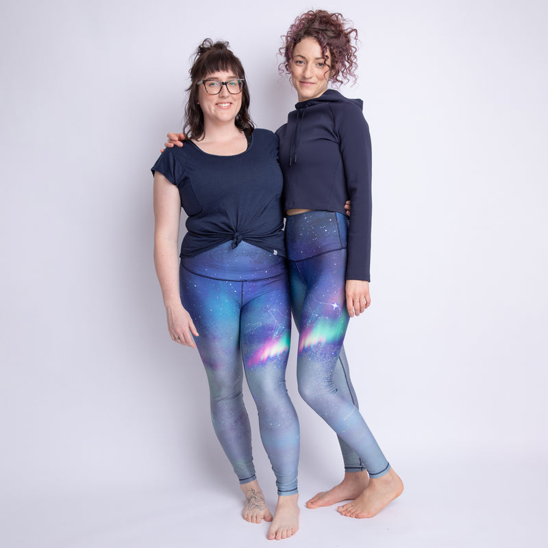 The Polaris Athletic Tights with Reflective - LAST CHANCE