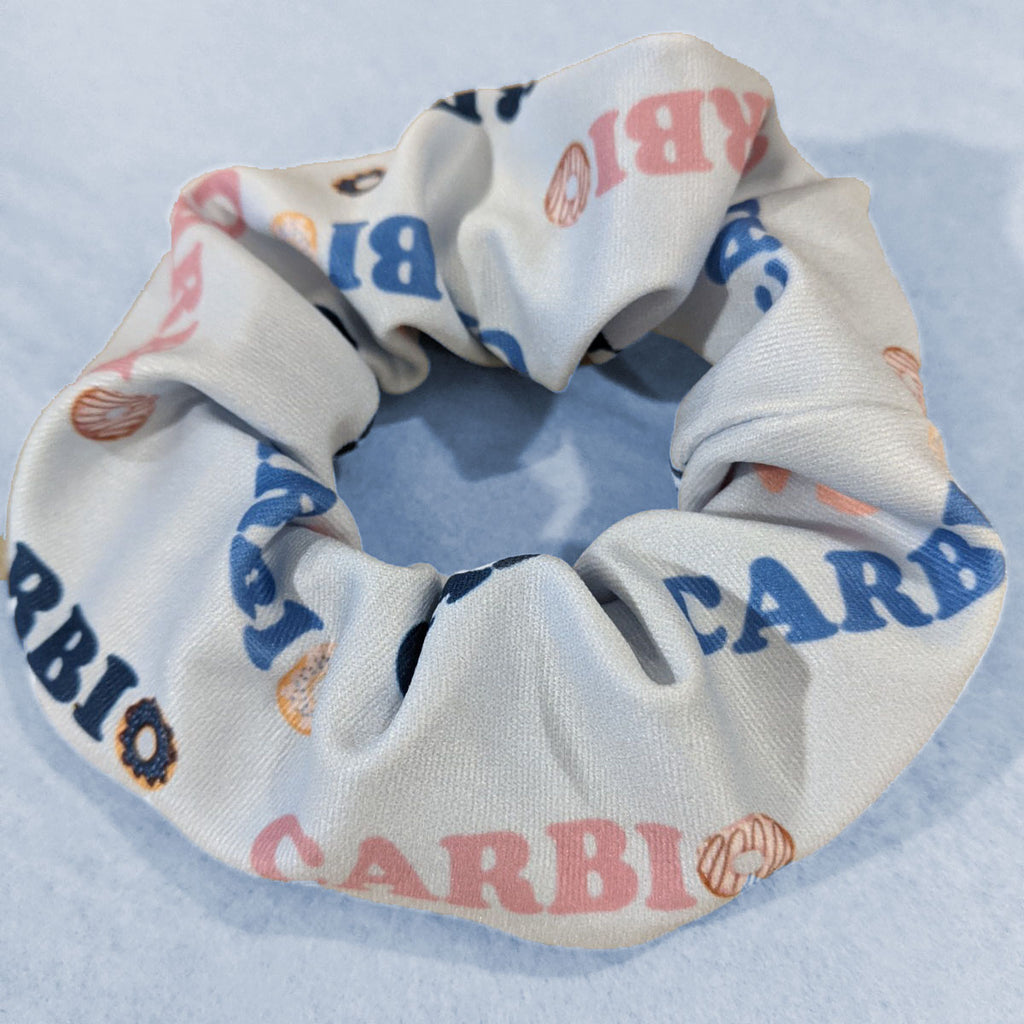 Recycled Scrap Fabric Scrunchies