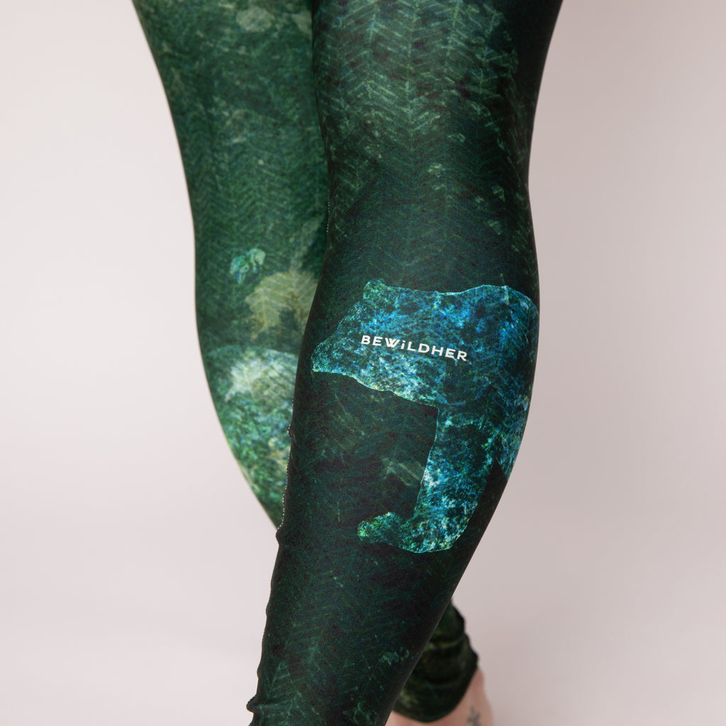 """Forest Friends"" Athletic Tights"