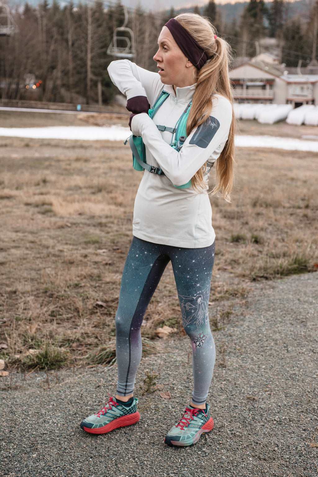 NOVEMBER - The Polar Lights Leggings - LAST PAIR: Size XXS