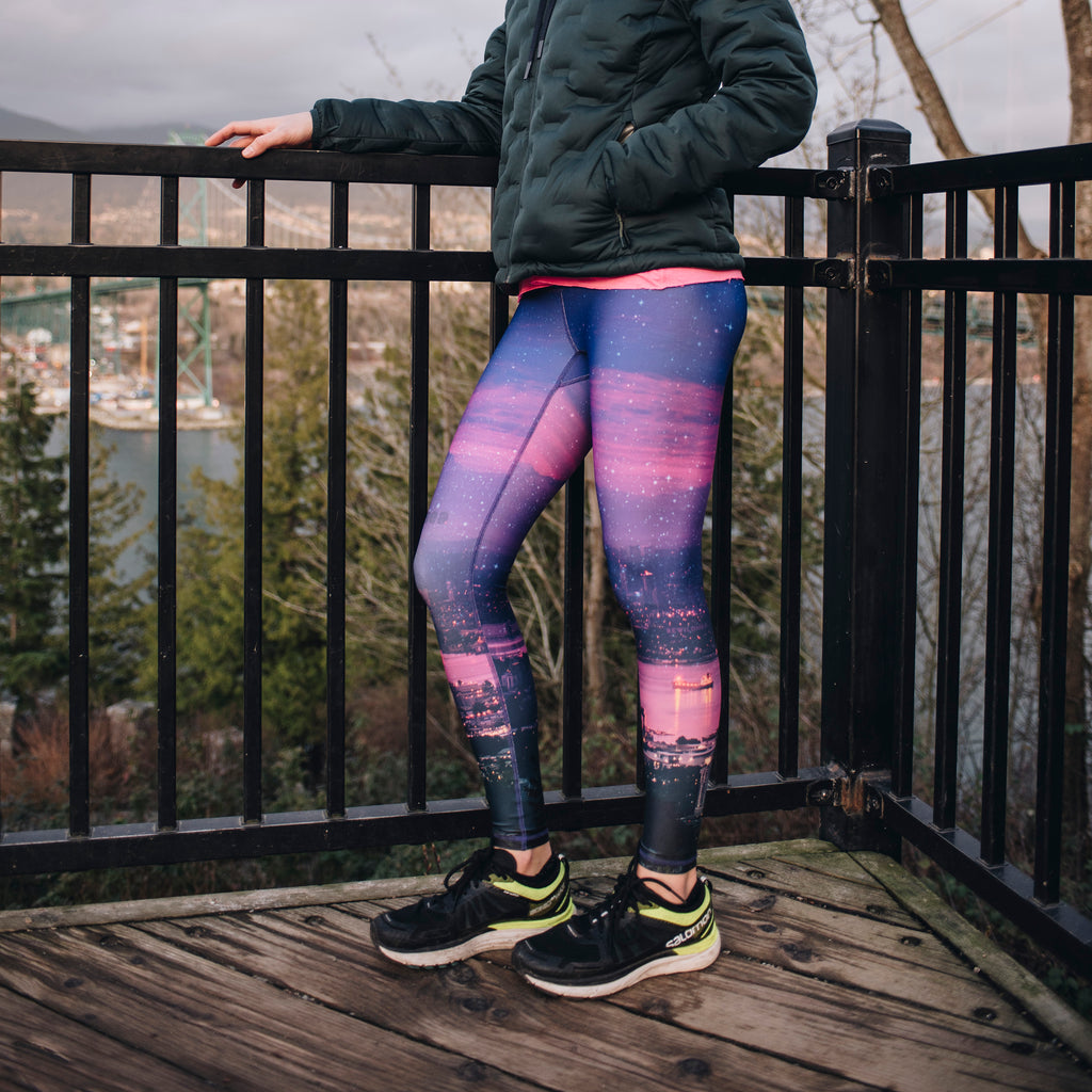 """Run This City 2.0"" - Run Wild Tights - wholesale"