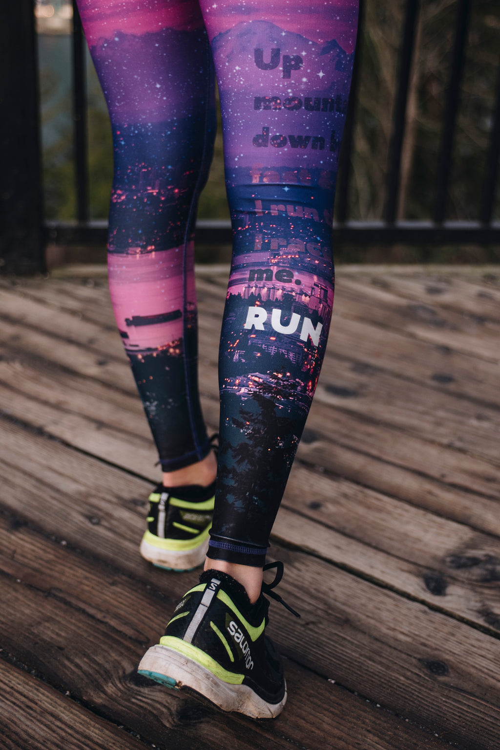 """Run This City 2.0"" Run-wild Tights *reflective* - LAST PAIR: XXS"
