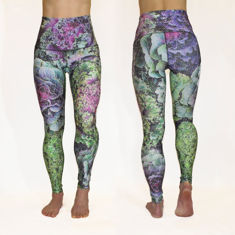 MARCH - The Kale 'Em With Kindness Leggings - ONLY 3 LEFT, SIZE XXL