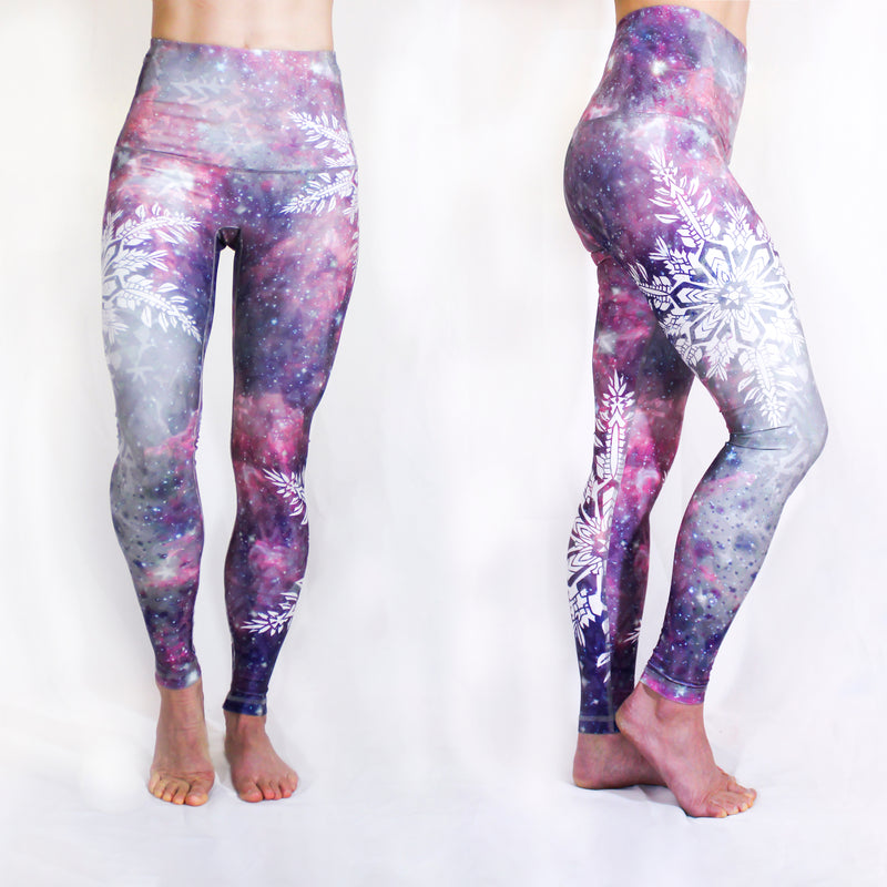 DECEMBER - The Snow Goddess Leggings