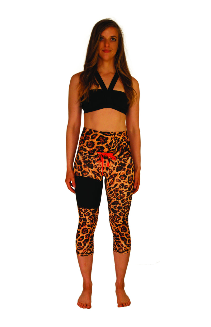 Cheetah Fitness Capri - XS only