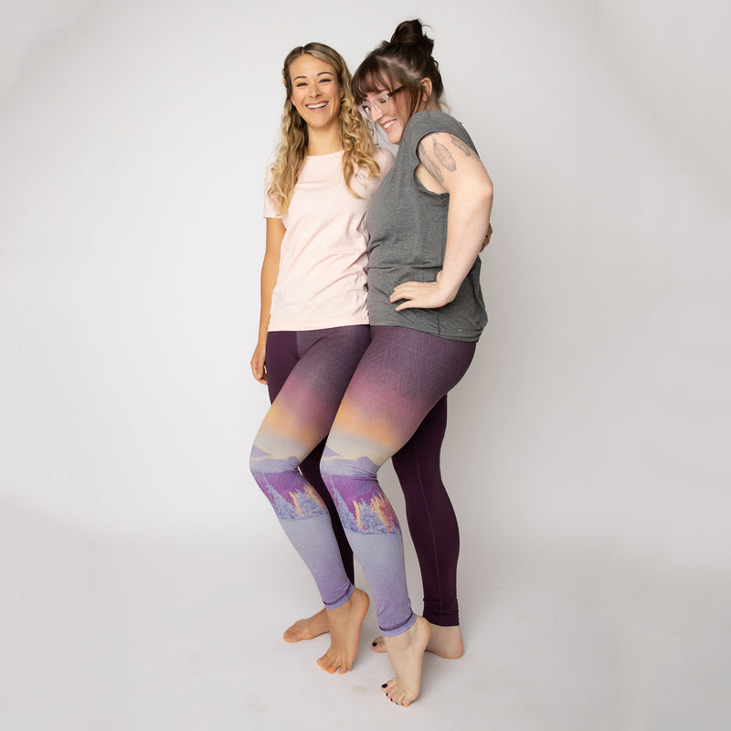 "The ""Alpine Glow"" Run Wild Tights - LAST SIZES: 12, 16, 18"