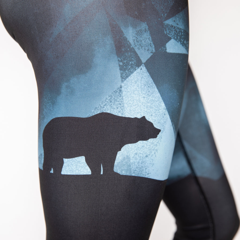 """The Black Bear"" Squat-proof Tights"