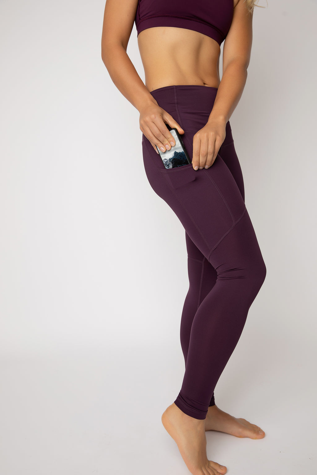 "The ""Sangria"" Pack-light Tights - will ship mid March"