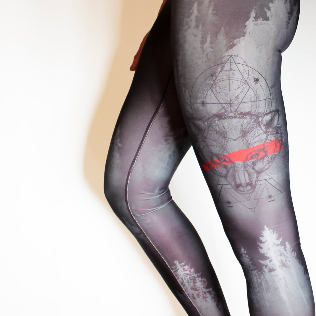 JANUARY - The Grizzly Warrior Leggings - YOU MISSED THEM!