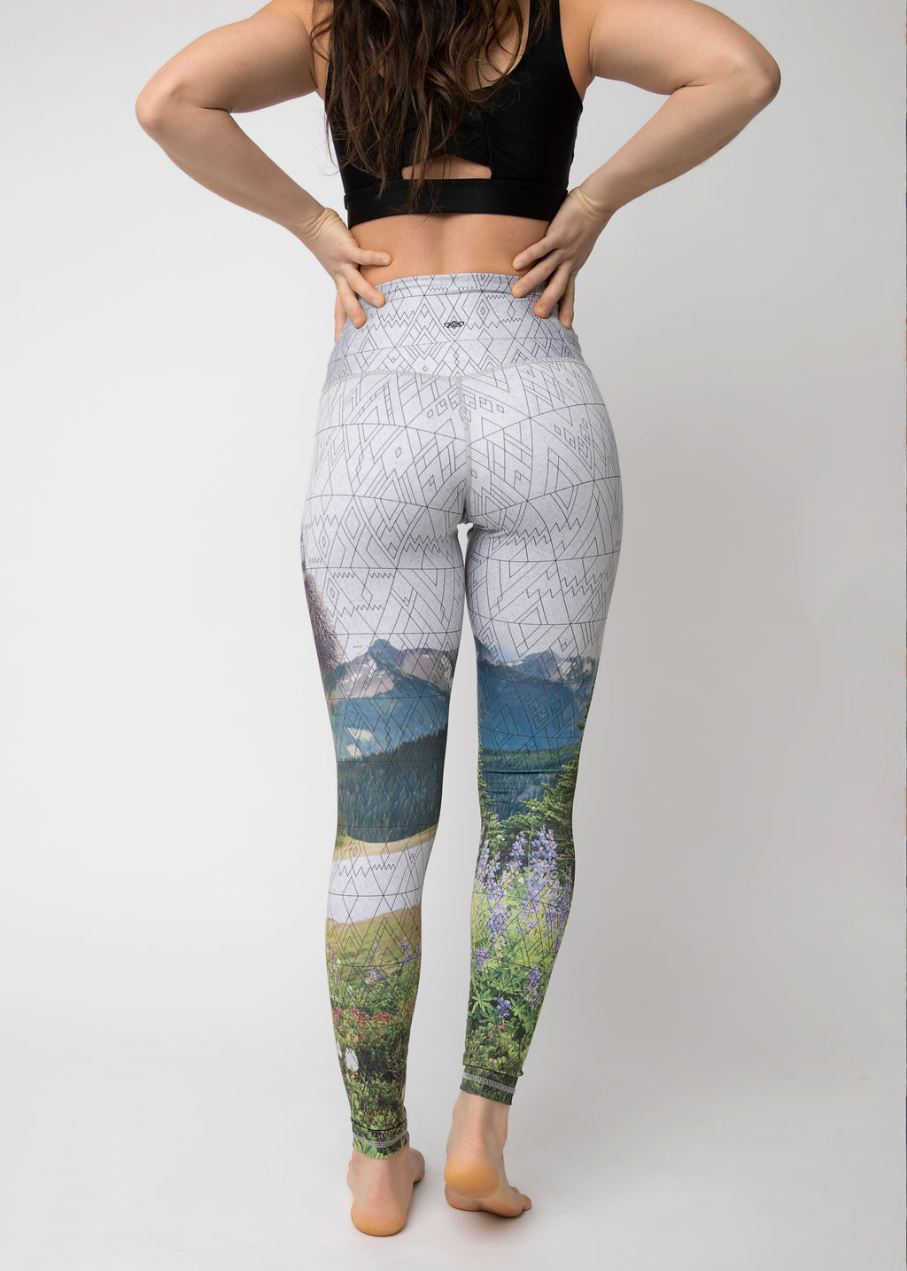 "The ""Hello Bear!"" Squat-proof Tights - ships mid April"