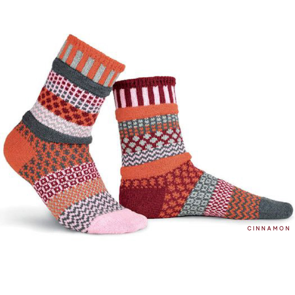 "The ""Solmate"" Socks - recycled and perfectly mismatched"