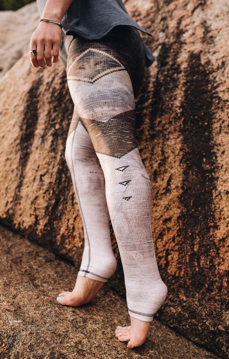 The Wolf Eye Athletic Tights with reflective - LAST CHANCE!