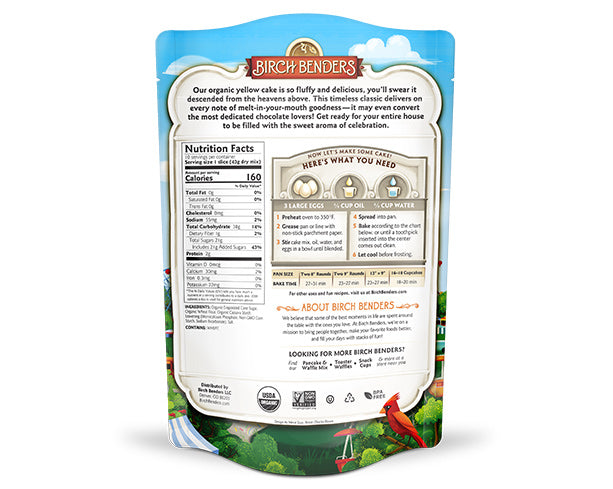 featured-Birch Benders Organic Yellow Cake Mix pouch - have-zoom-4