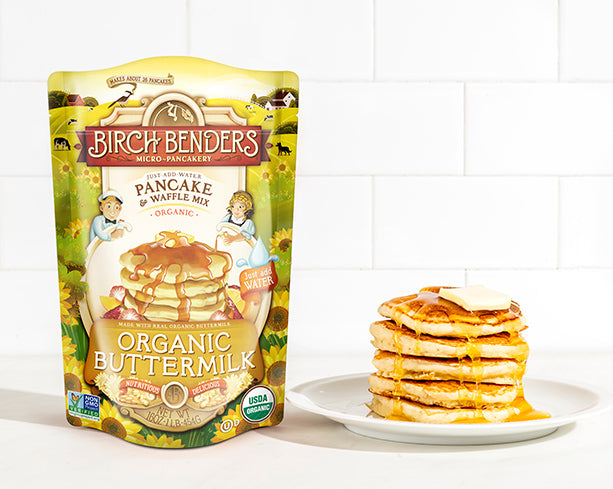 featured-Birch Benders Organic Buttermilk Pancake & Waffle Mix - have-zoom-1