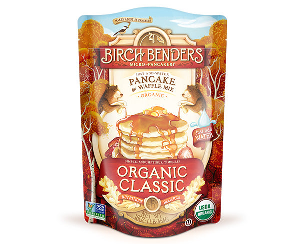 featured-Birch Benders Organic Classic Pancake & Waffle Mix pouch - have-zoom-3