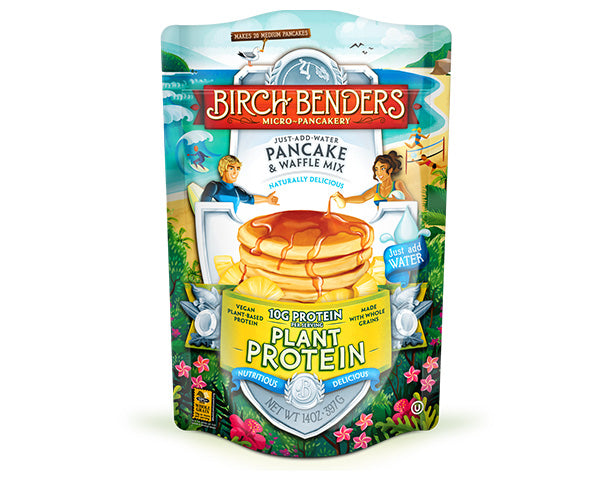 featured-Birch Benders Plant Protein Pancake & Waffle Mix pouch - have-zoom-3
