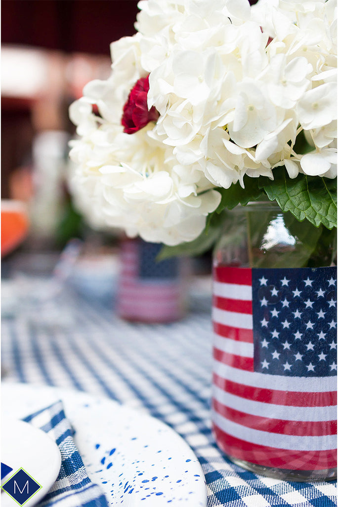 DIY Centerpiece, 4th of July Inspired
