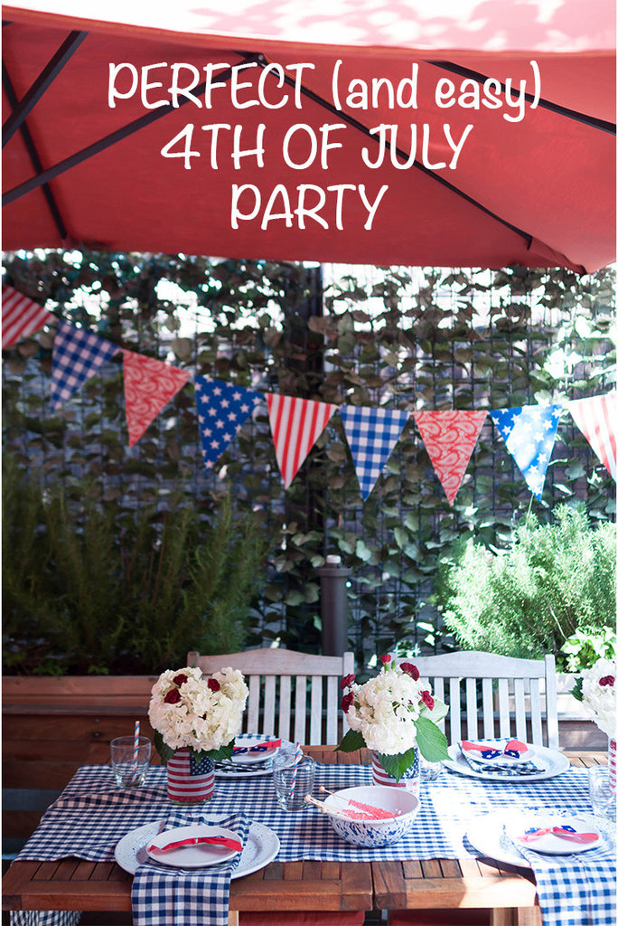 Perfect and Easy 4th of July Party
