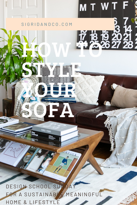 How to Style A Sofa - 3 Easy Ways