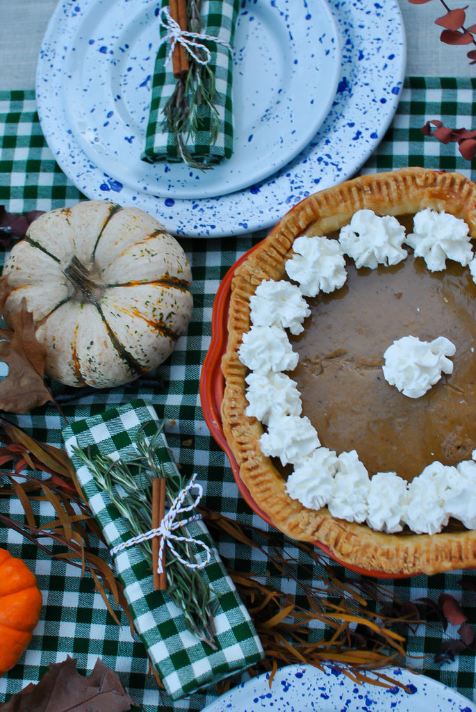 Best Chai Spiced Bourbon Spiked Pumpkin Pie