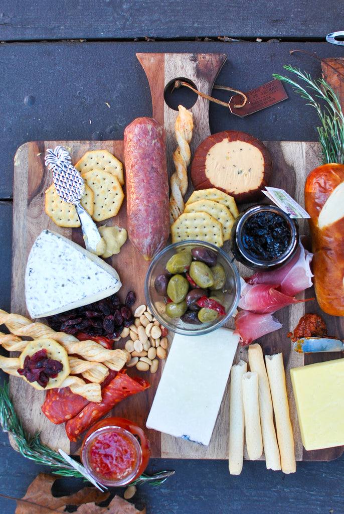 Easy Cheese and Charcuterie Board in less than 10 Minutes DIY