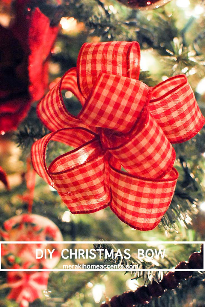 DIY Christmas Bow
