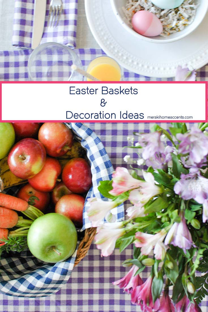 Easter Baskets and Decoration Ideas (for small places)