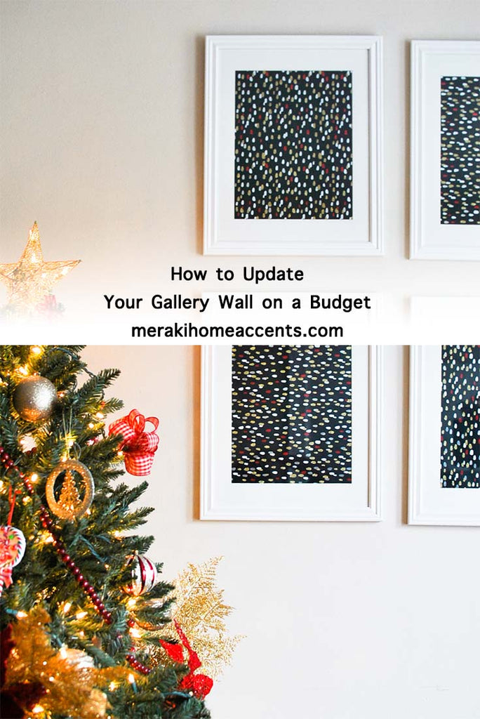 How to Update Your Gallery Wall on a Budget DIY