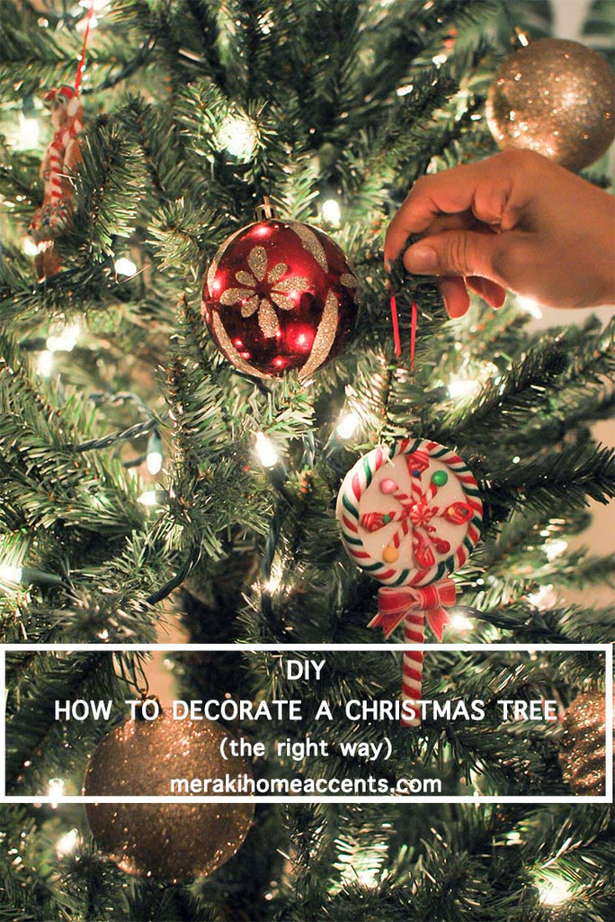 DIY How To Decorate a Christmas Tree (The Right Way)