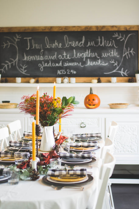 10 Thanksgiving Table Decoration Tips