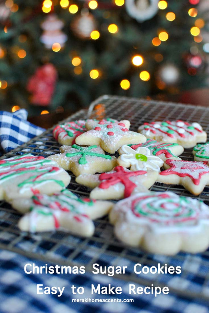 Christmas Sugar Cookies Easy Recipe