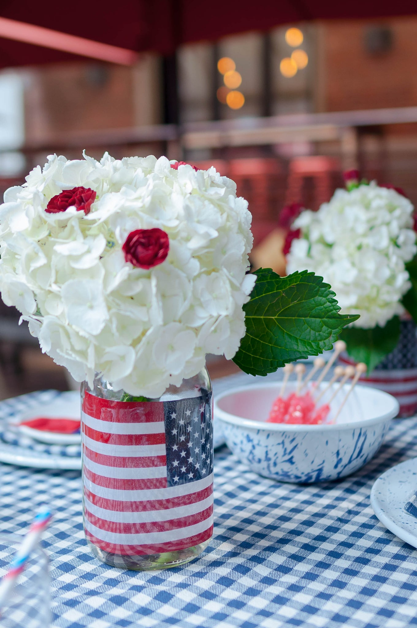 Party Decor DIY 4th of July Centerpiece