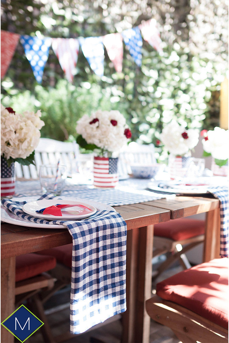 4th of July Party Tablescape