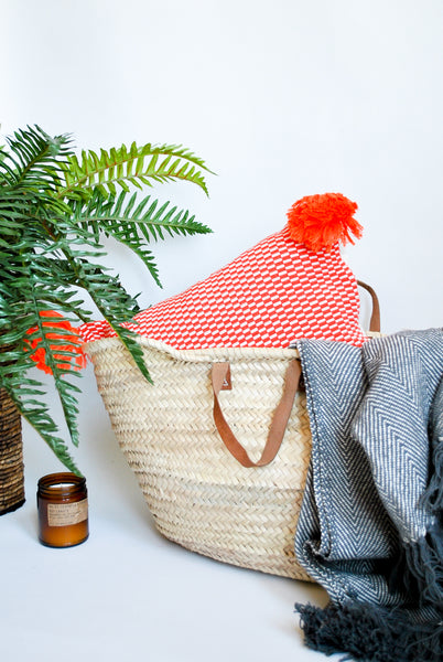 Ibiza Moroccan Straw Bag