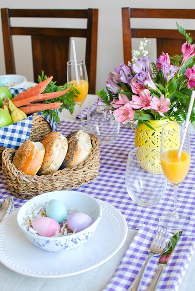 Easter Table Decoration for Small Spaces
