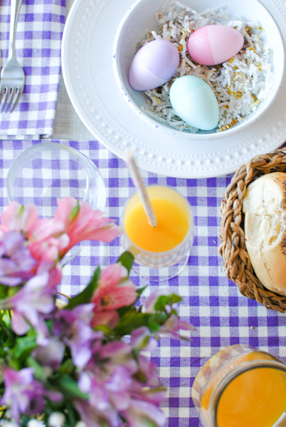 Easter Baskets and Table Decoration