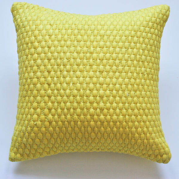 Spring Style Yellow Accent Pillow