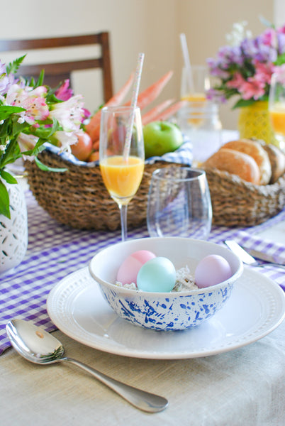 Easter Table Decor and Baskets Ideas