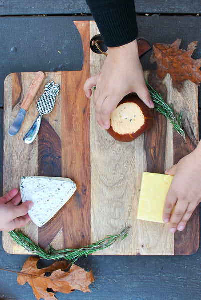 DIY Cheese and Charcuterie Platter